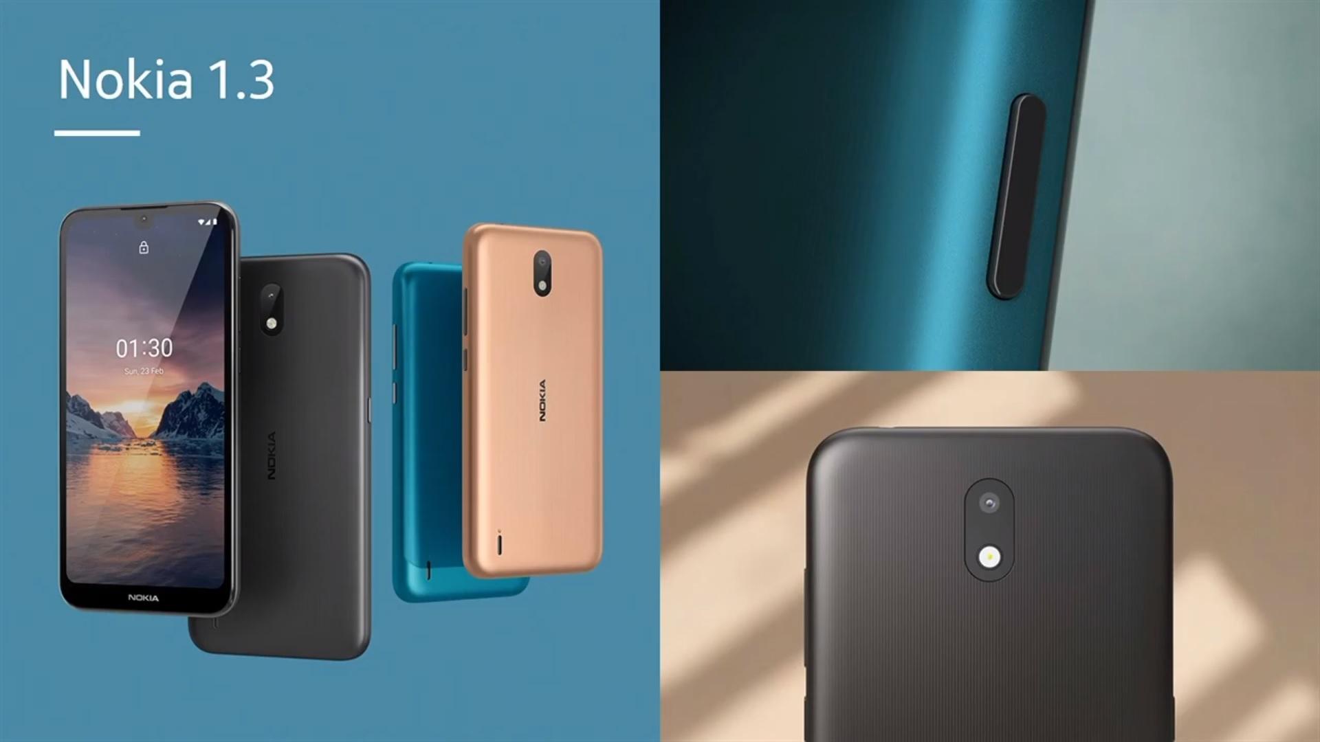 smartfon Nokia 1.3 wkrótce doczeka się następcy w postaci modelu Nokia 1.4