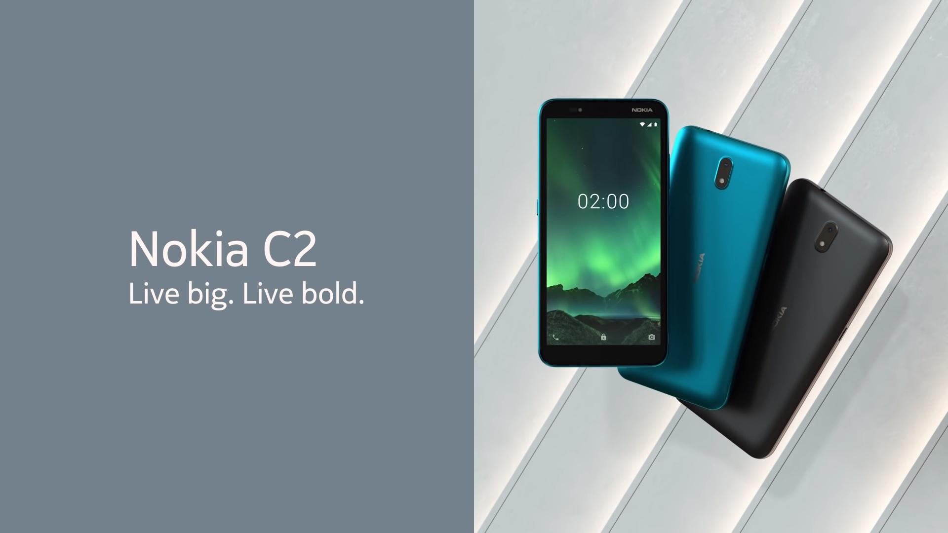 Nokia C2 smartphone