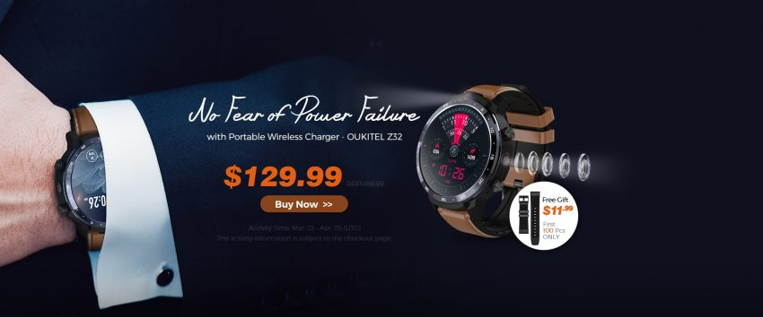 Oukitel Z32 smartwatch