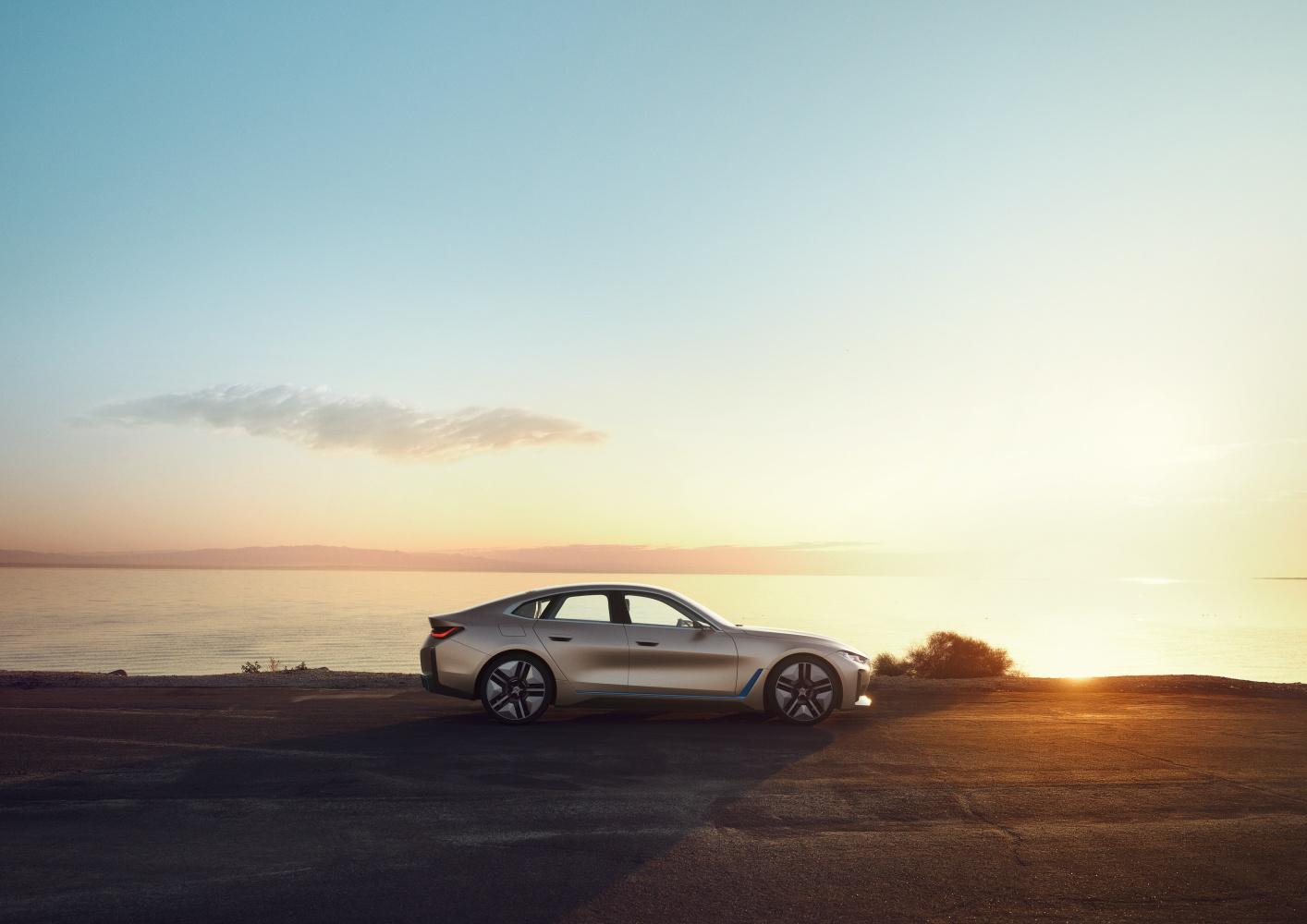 BMW Concept i4 – zapowiedź groźnego przeciwnika dla Tesli