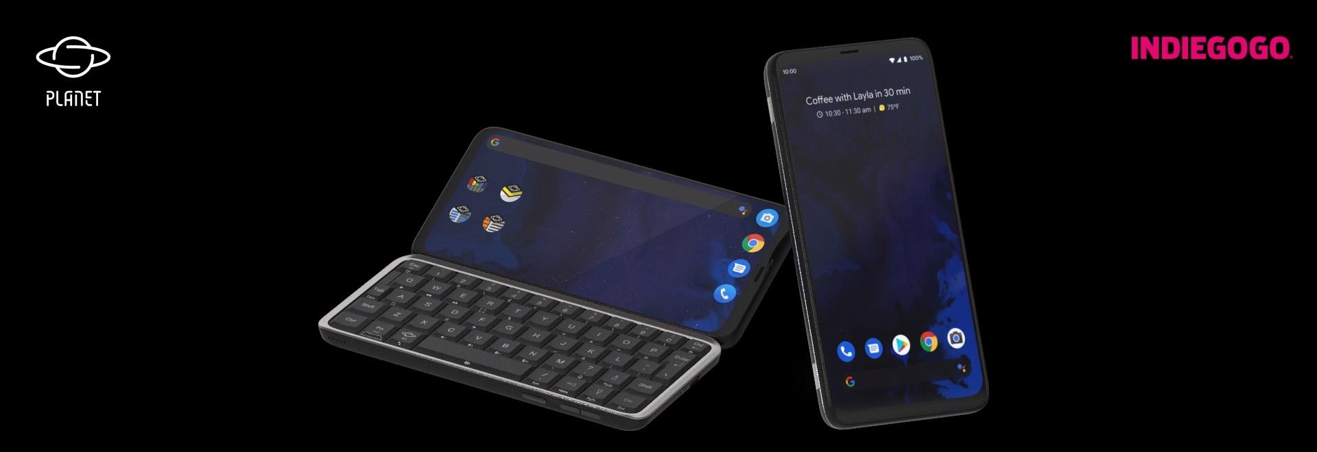Astro Slide 5G smartphone