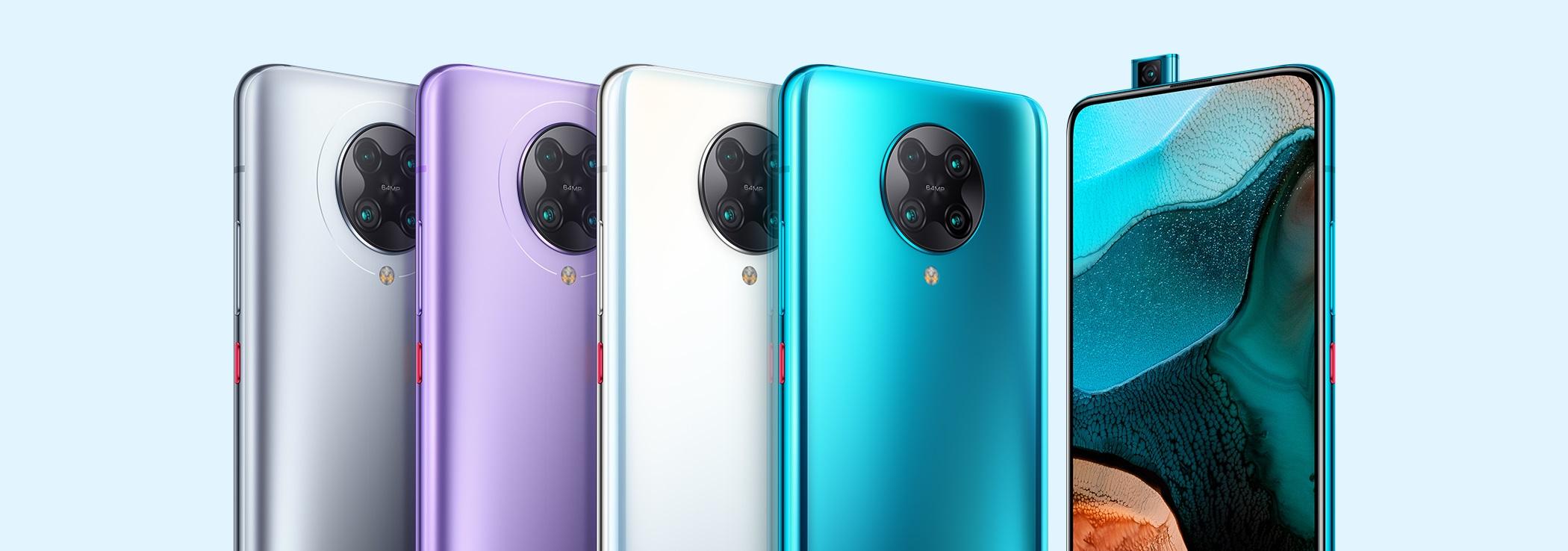 Redmi K30 Ultra również będzie miał poczwórny aparat z głównym sensorem o rozdzielczości 64 Mpix i wysuwany aparat do selfie jak Redmi K30 Pro