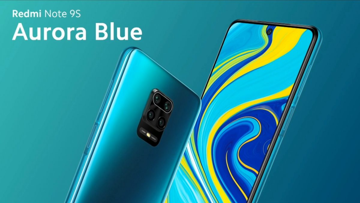 Redmi Note 9S Aurora Blue