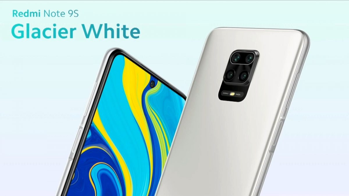 Redmi Note 9S Glacier White