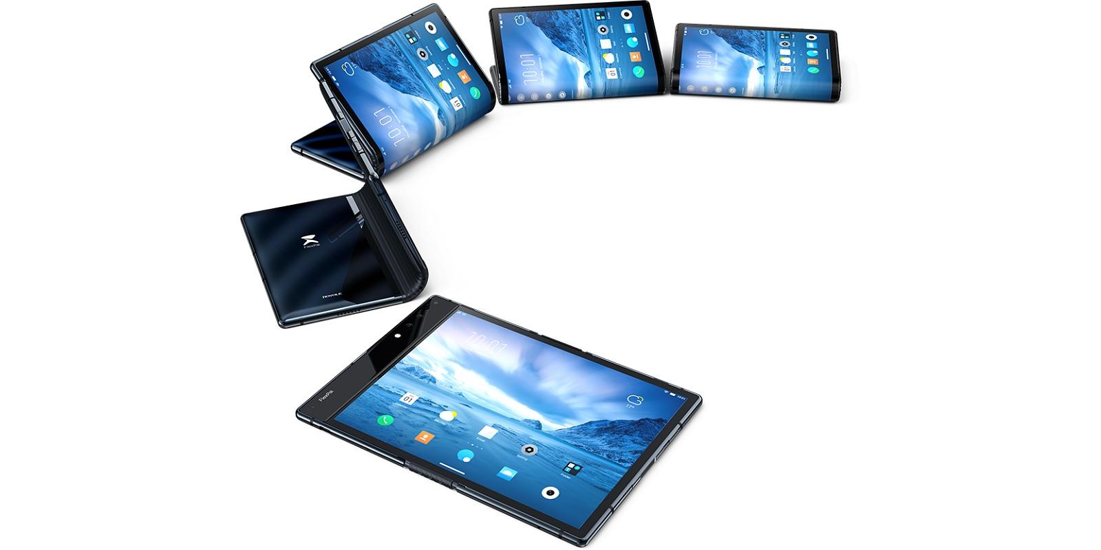składany smartfon Royole FlexPai foldable smartphone