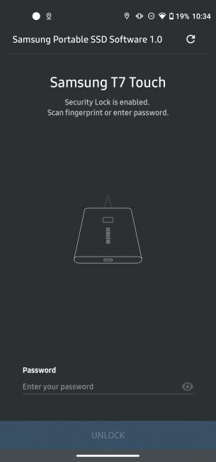 Samsung Portable SSD T7 Touch - dysk chroniony odciskiem palca (test) 29