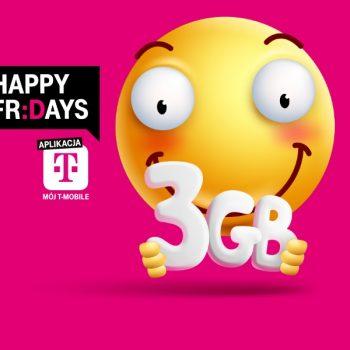 Masz numer w T-Mobile? Włącz sobie za darmo dodatkowe 3 GB internetu 24