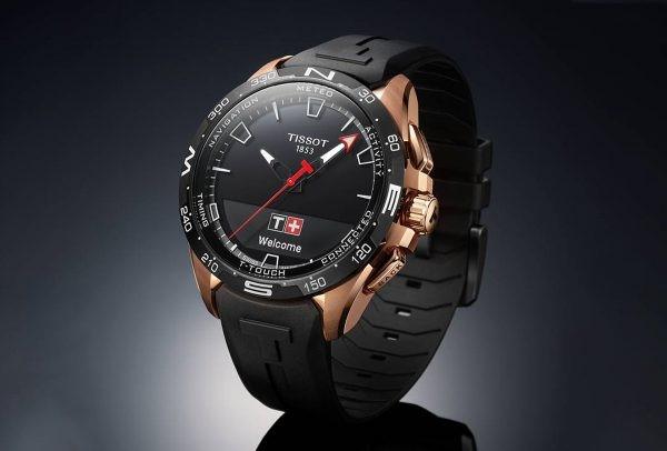Pół roku na baterii w smartwatchu. Zegarek Tissot T-Touch Connect Solar będzie ładowany energią słoneczną