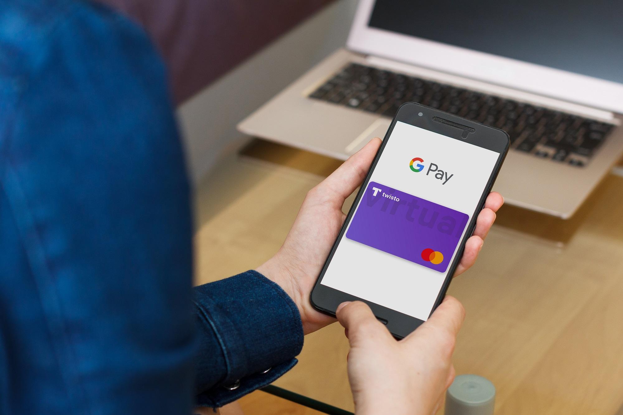 Twisto Google Pay