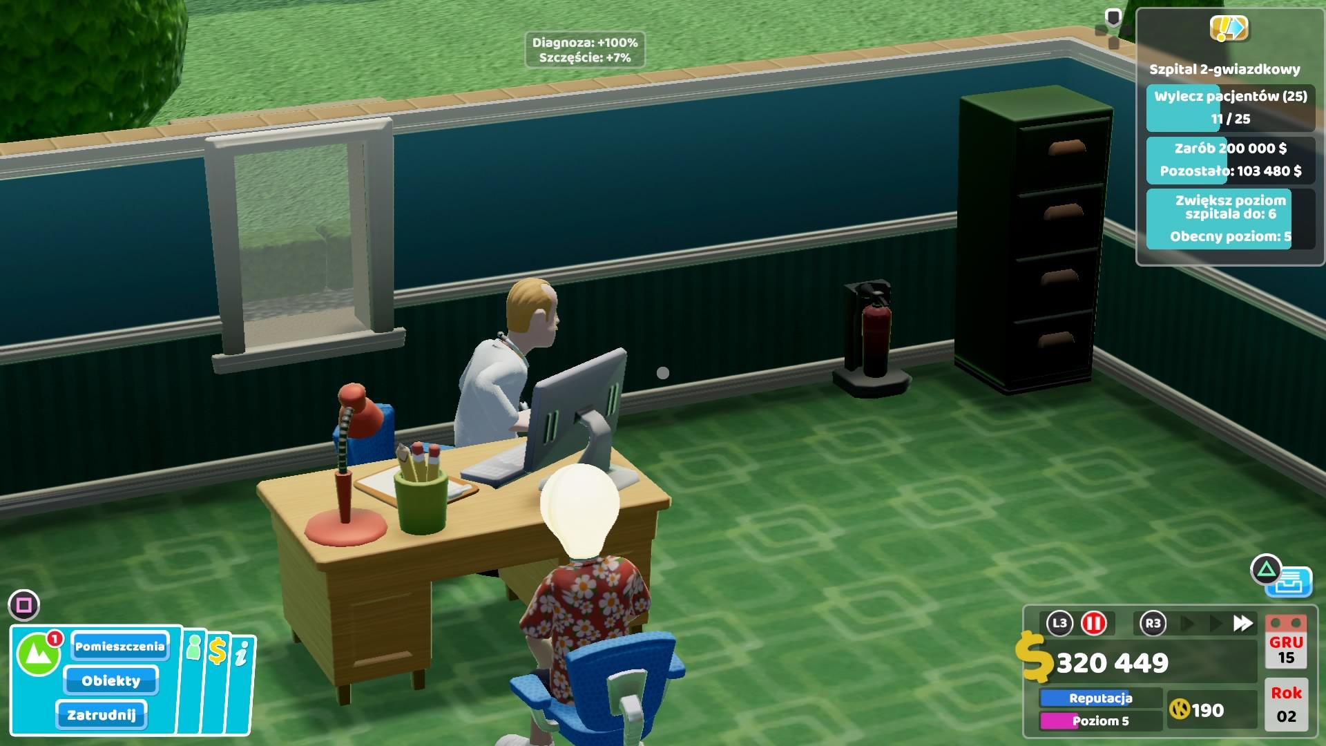 Szpital dla chorych inaczej - recenzja Two Point Hospital na PlayStation 4 21