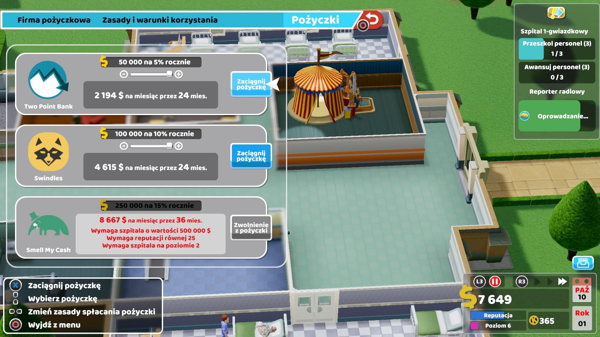 Szpital dla chorych inaczej - recenzja Two Point Hospital na PlayStation 4 24