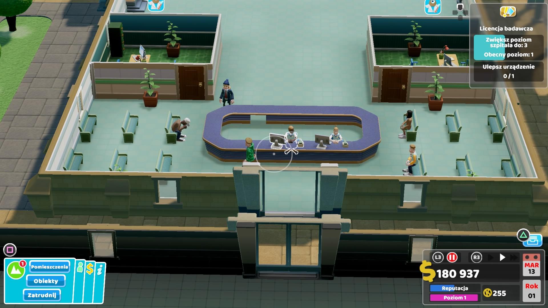 Szpital dla chorych inaczej - recenzja Two Point Hospital na PlayStation 4 26