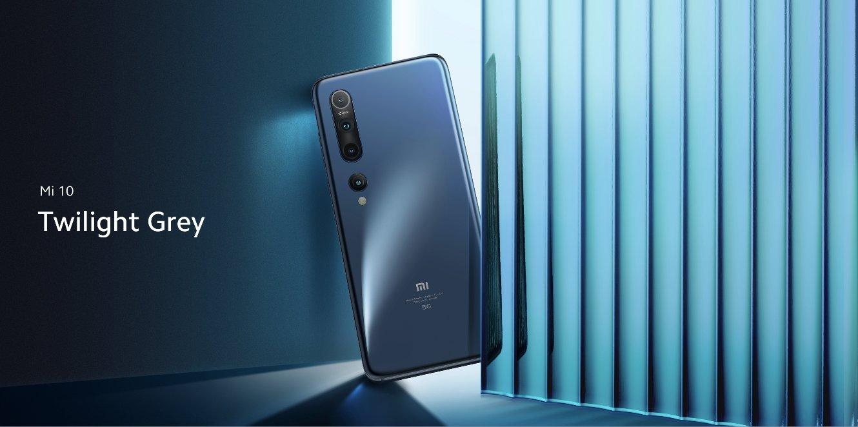Xiaomi Mi 10 smartphone