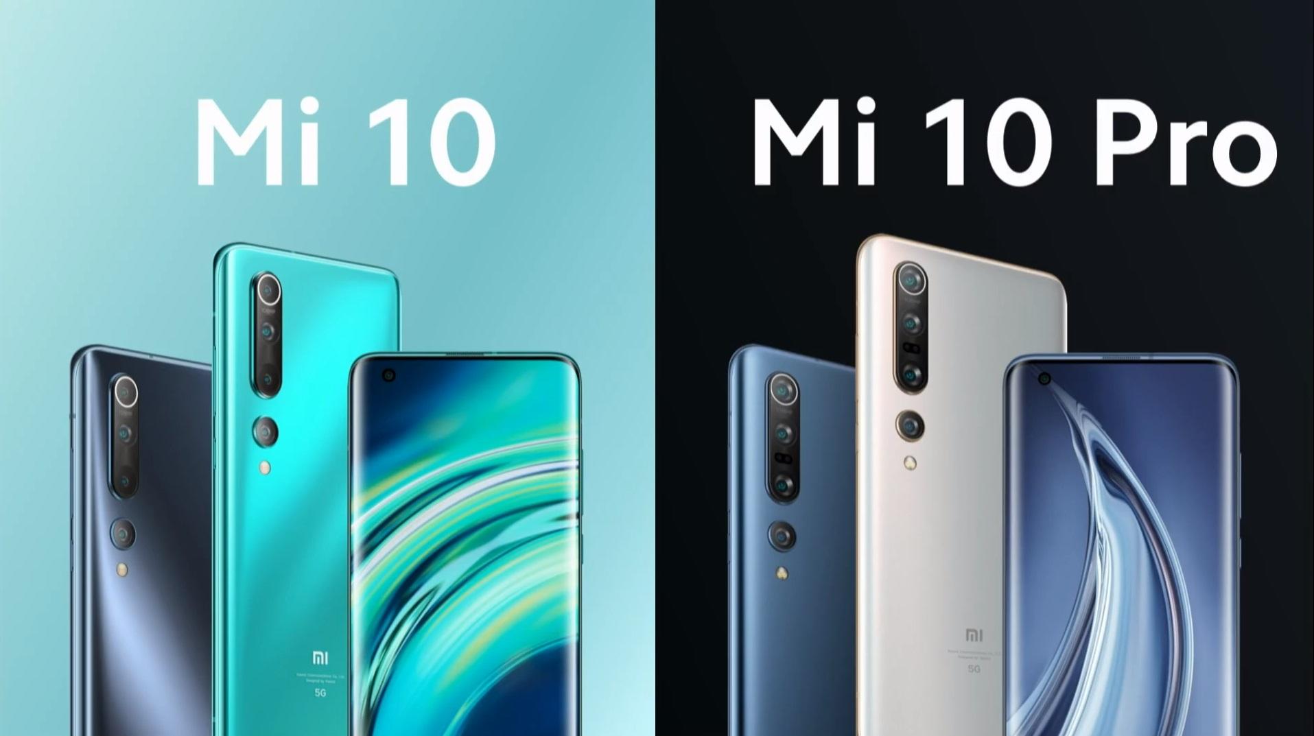 Xiaomi Mi 10 (Pro) smartphone