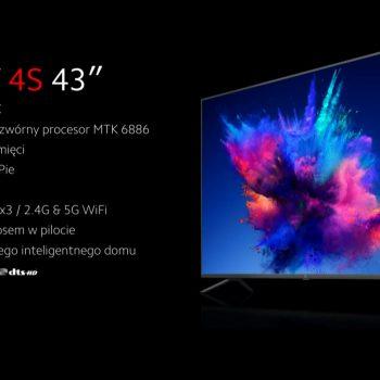 """Xiaomi Mi TV 4S 43"""" TV"""