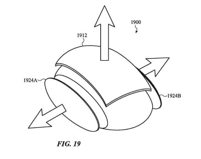 Apple patentuje projekt myszy, która dosłownie rośnie w dłoni