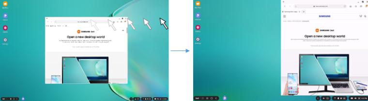 Aktualizacja Samsung DeX dla rodziny Galaxy S20 20