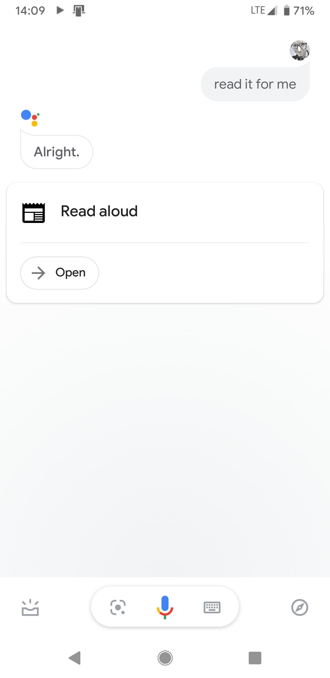 Poczytaj mi, Google. Asystent głosowy może przeczytać zawartość dowolnej strony - sprawdźcie u siebie