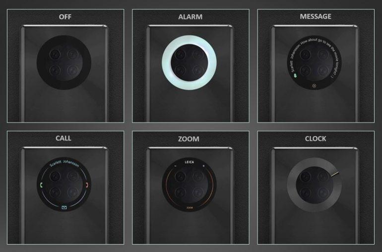 Chcę to. Huawei Mate Pro 40 może dostać ekran dotykowy wokół modułu głównego aparatu 19