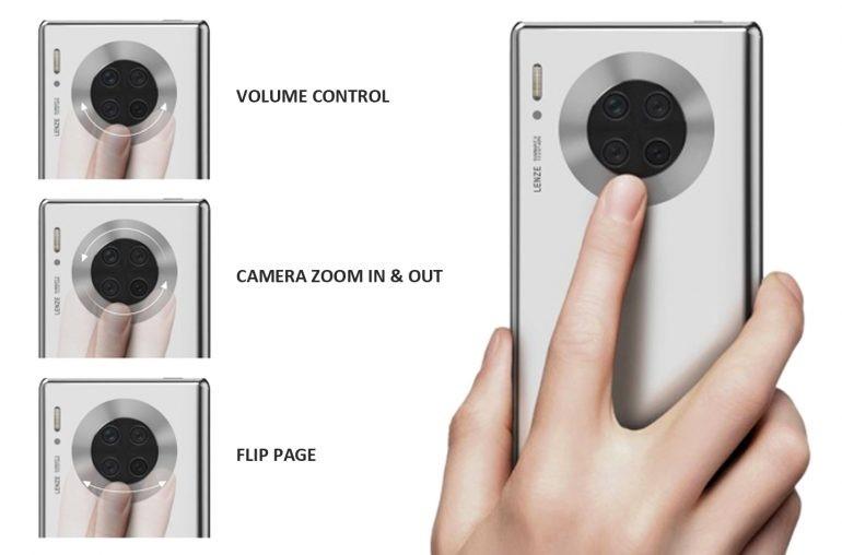 Chcę to. Huawei Mate Pro 40 może dostać ekran dotykowy wokół modułu głównego aparatu 18