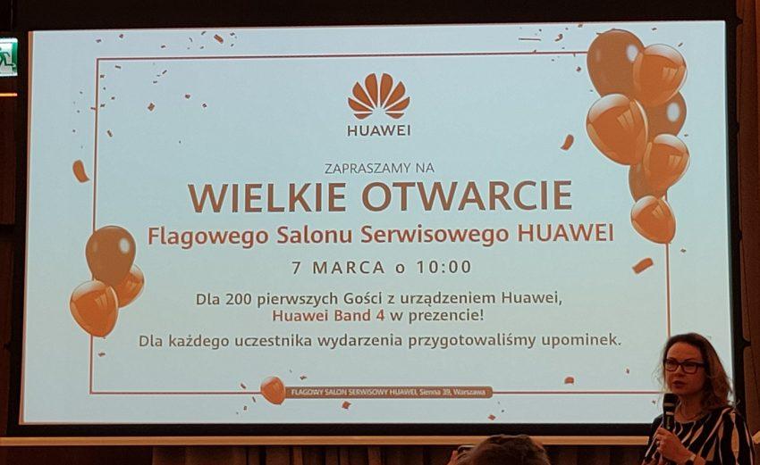 Darmowe opaski Band 4 od Huawei i rozszerzone wsparcie serwisowe smartfonów przez dwa lata