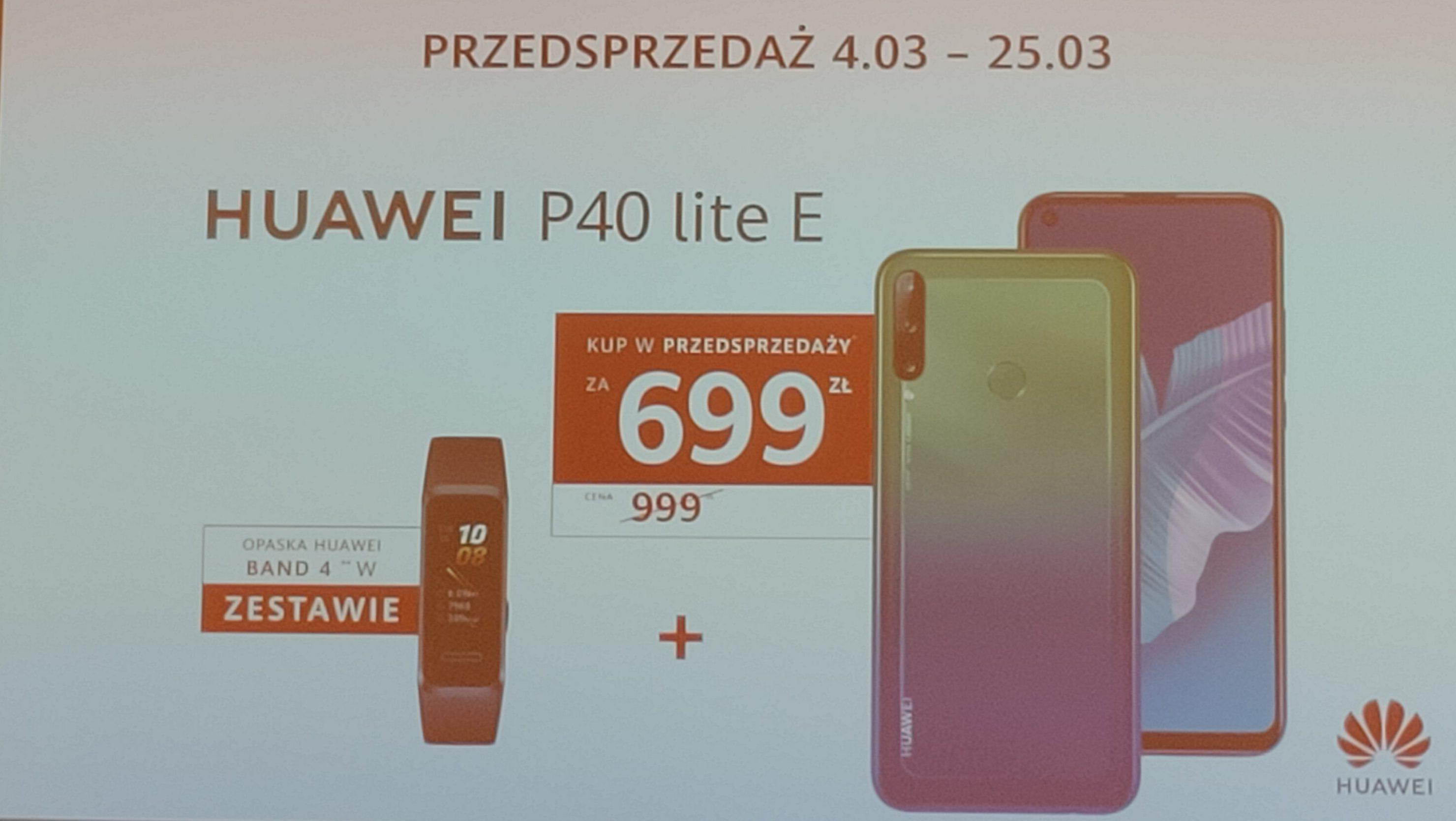 Huawei P40 Lite i P40 Lite E z opaską Band 4 w sensacyjnie niskich cenach podczas przedsprzedaży! 17