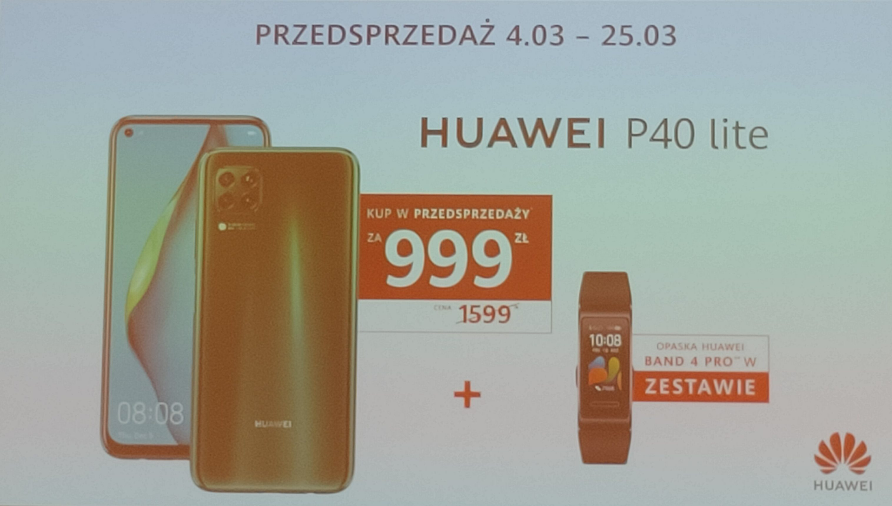 Huawei P40 Lite i P40 Lite E z opaską Band 4 w sensacyjnie niskich cenach podczas przedsprzedaży! 16