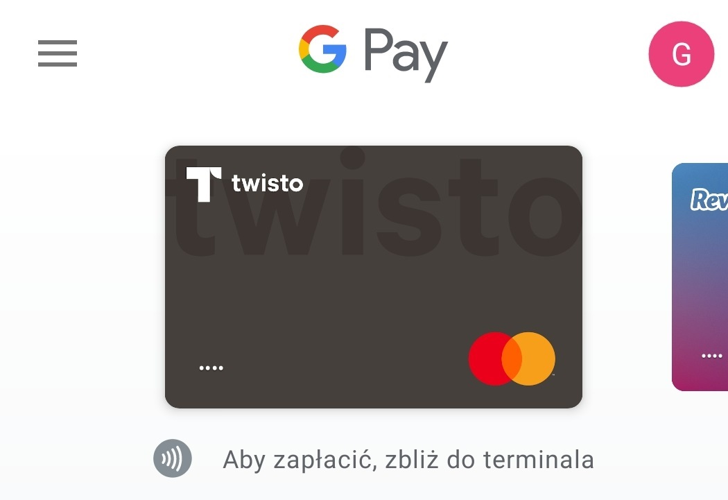 Twisto Google Pay