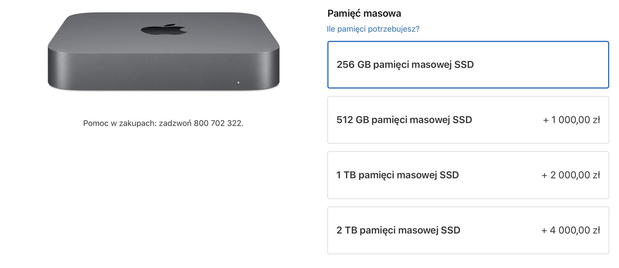 Apple wreszcie zrozumiało, że dysk 128 GB w komputerze to jednak za mało 18