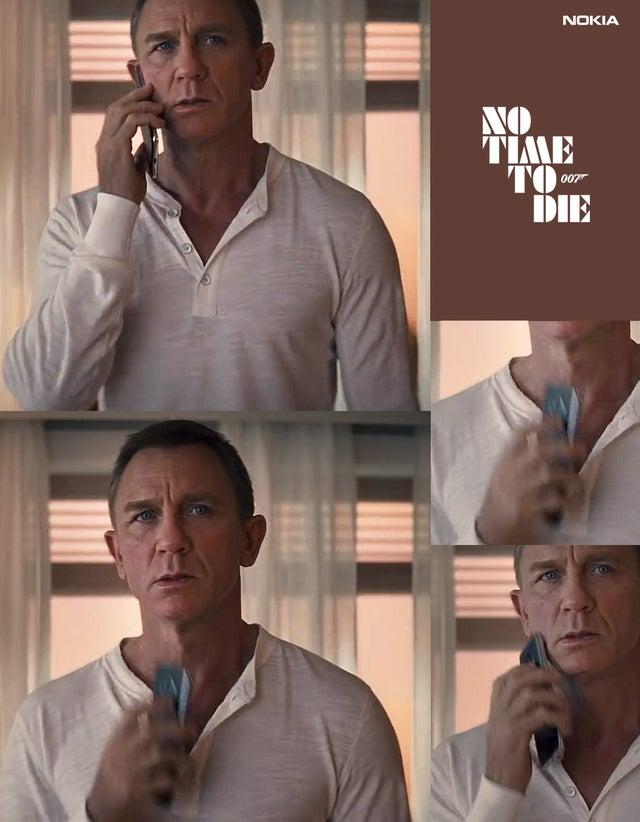 Nokia kolejnym smartfonem Jamesa Bonda. Sony poszło w odstawkę