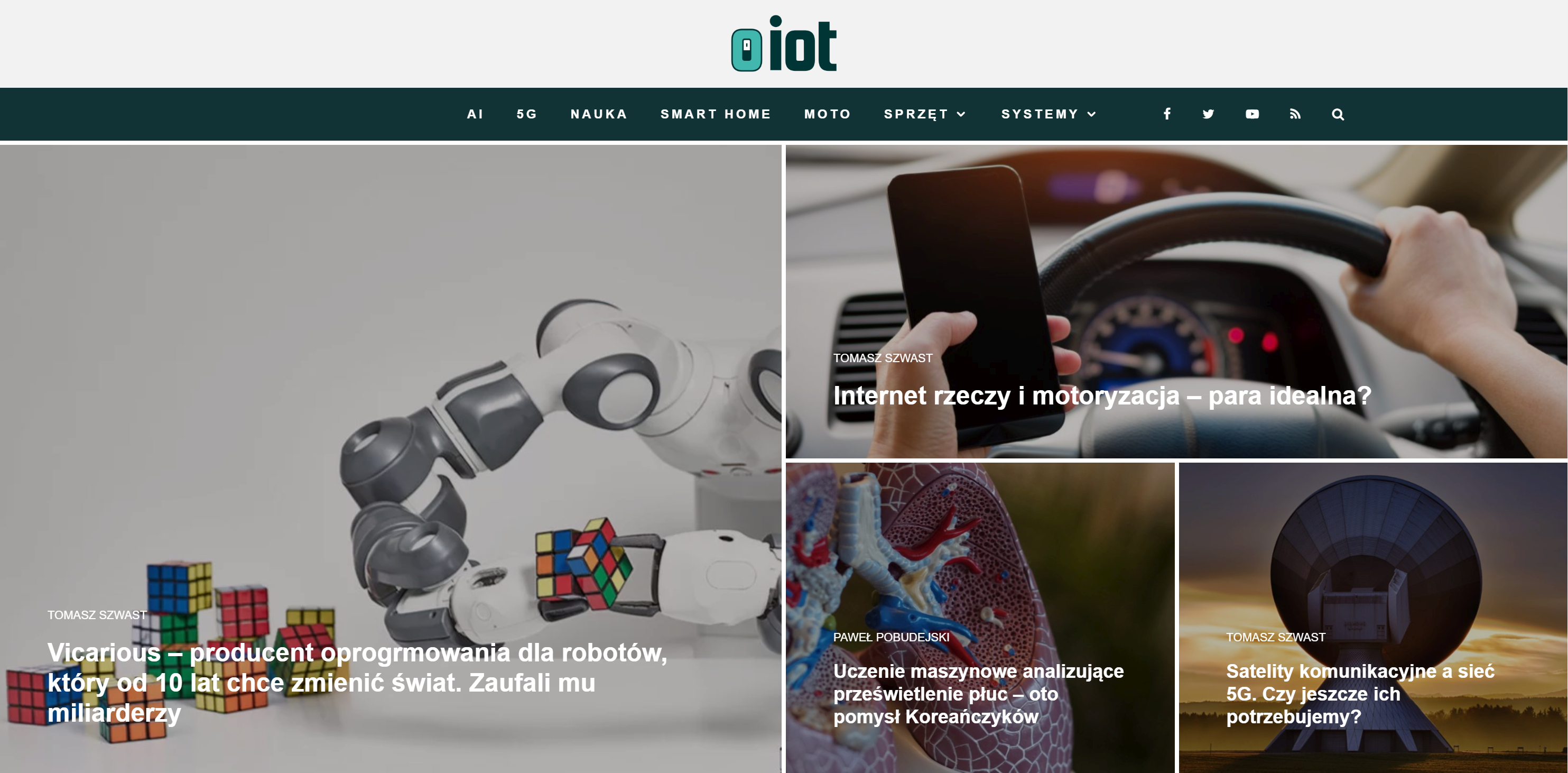 Startujemy z nowym projektem! Zapraszamy na oiot.pl