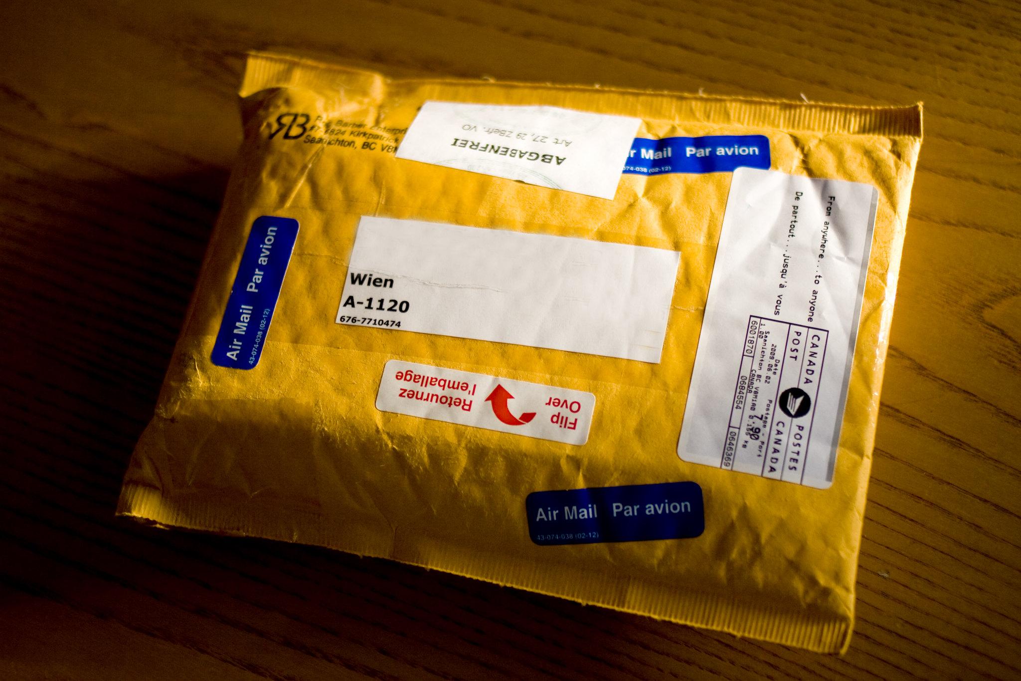 paczka list przesyłka