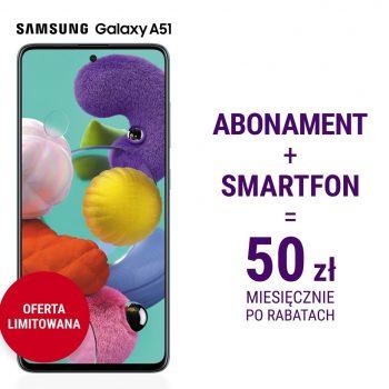 Limitowana promocja w Play - abonament i smartfon za 50 złotych miesięcznie 18