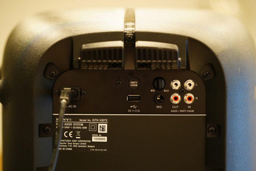 Recenzja Sony GTK-XB72 - dobrego wodzireja każdej imprezy 25