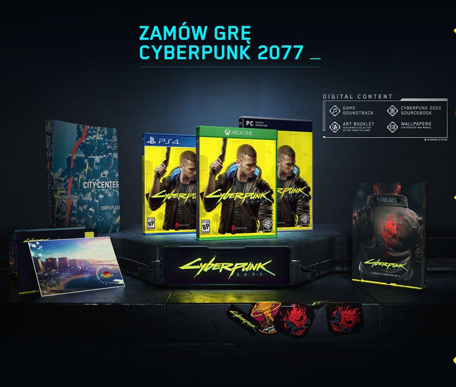 Cenega oficjalnym dystrybutorem Cyberpunk 2077 w Polsce