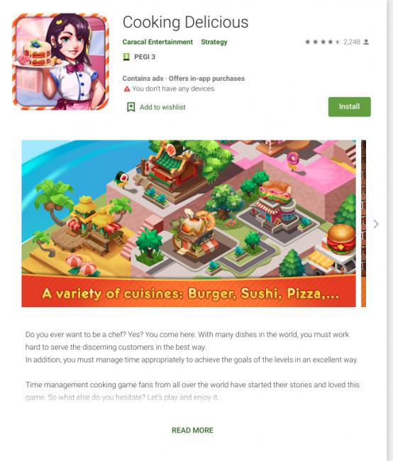 Niestety, Google Play cały czas ma problem ze złośliwymi aplikacjami 20