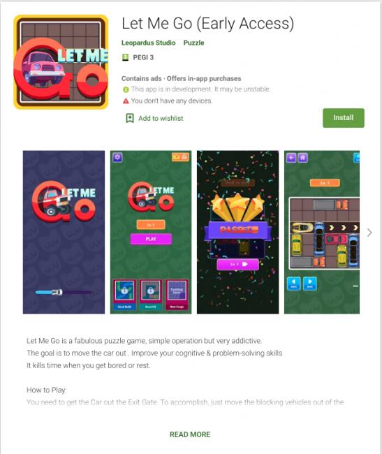 Niestety, Google Play cały czas ma problem ze złośliwymi aplikacjami 21