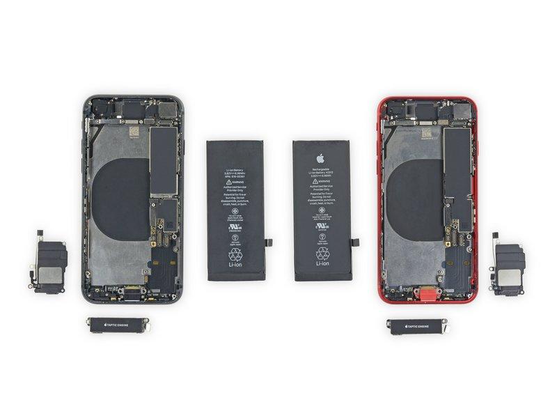 iPhone SE 2020 oraz iPhone 8 mają wiele wspólnego - porównanie użytych części 21