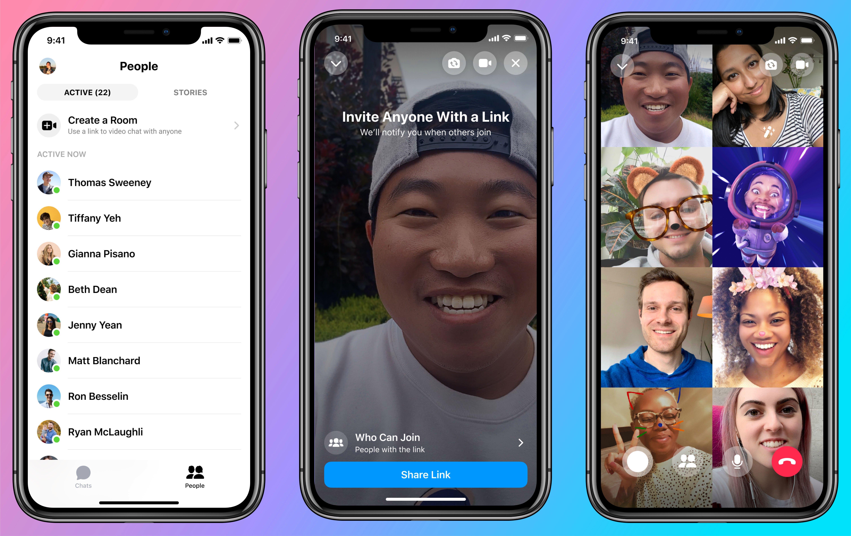 Facebook goni konkurencję: Messenger Rooms zagrozi pozycji Zoom? 22