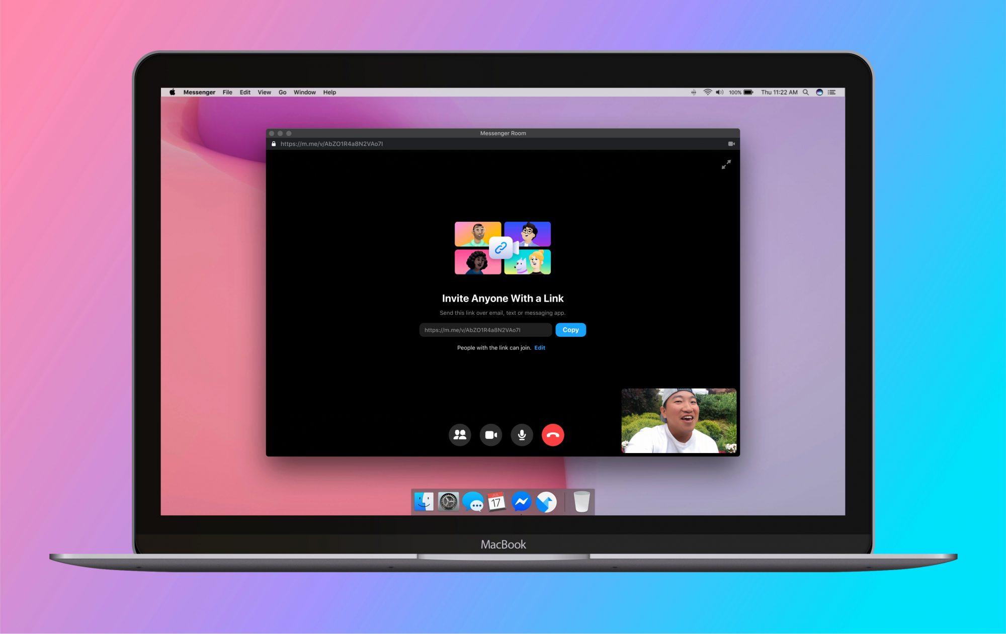 Messenger Rooms umożliwi transmisję wideokonferencji na żywo 23