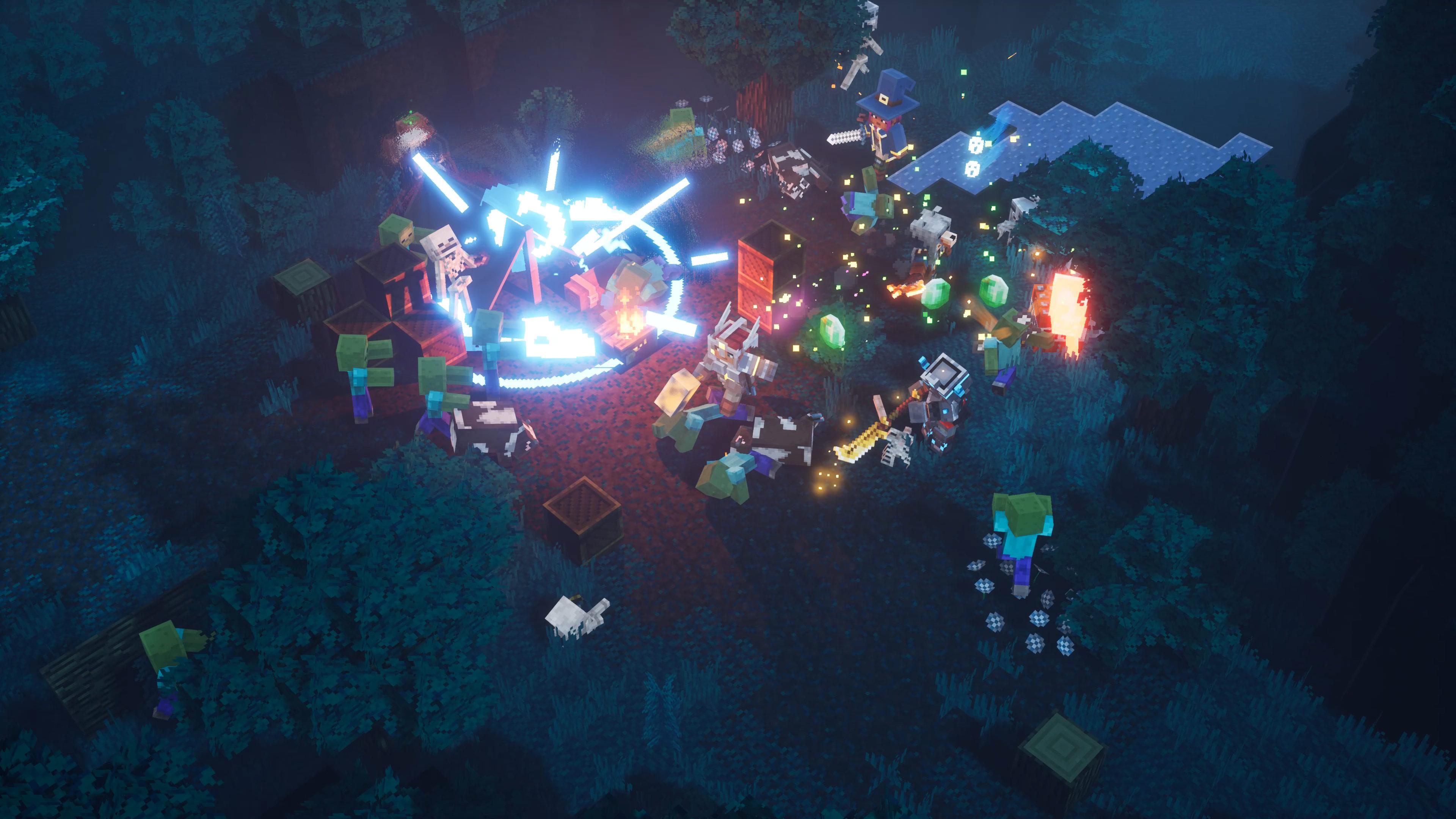 Minecraft Dungeons wkrótce dostanie cross-play na wszystkie platformy