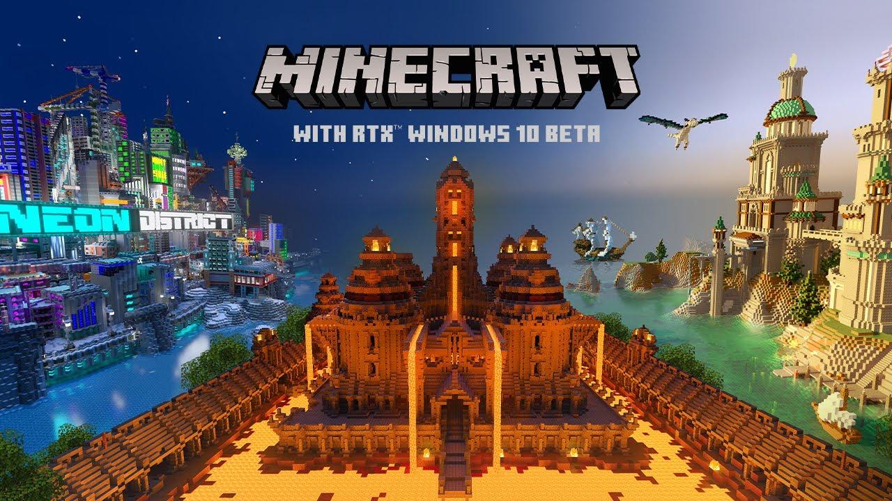 Sześciany jeszcze nigdy nie były tak piękne - Minecraft od jutra ze wsparciem dla RTX 15