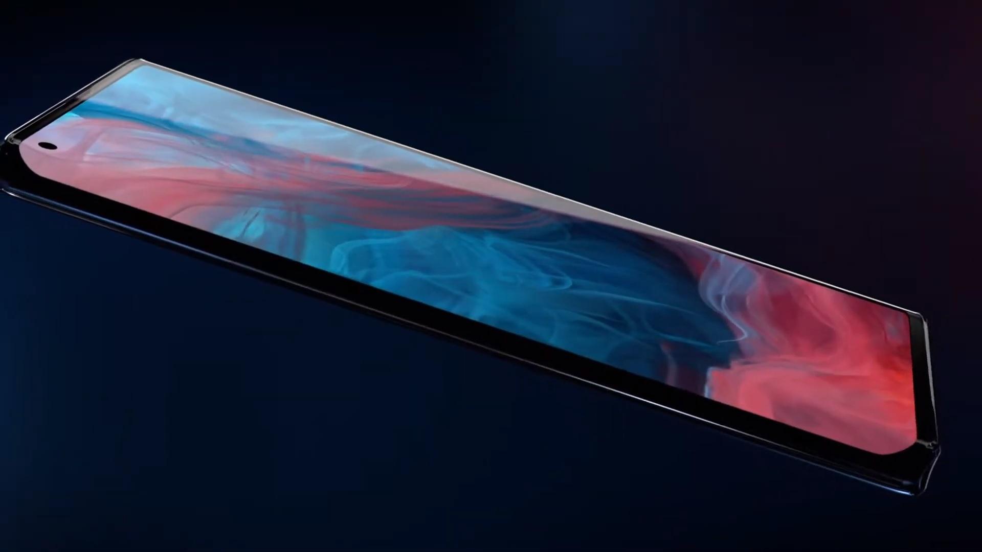 Motorola Edge Plus screen display