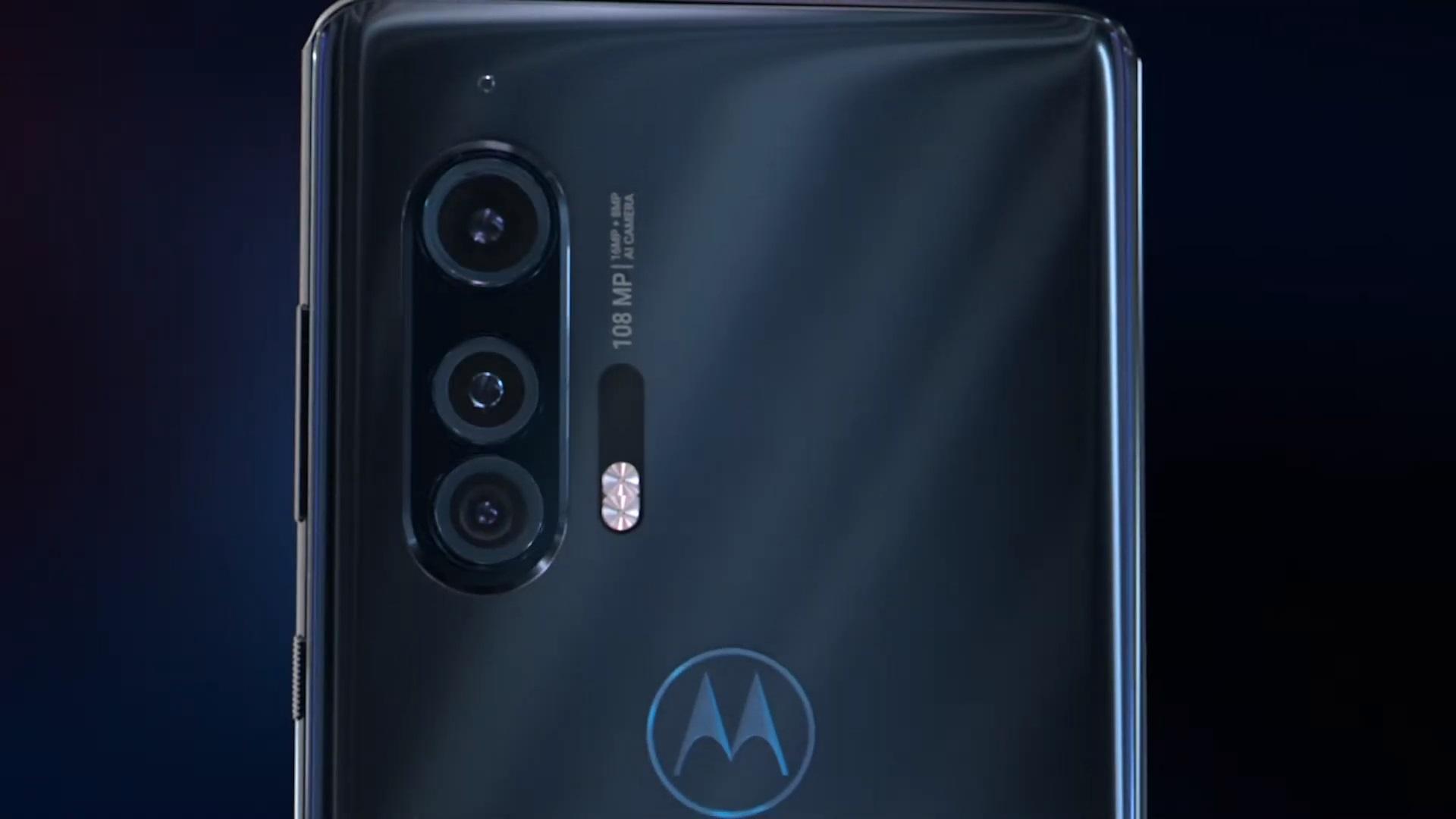Motorola Edge Plus rear camera