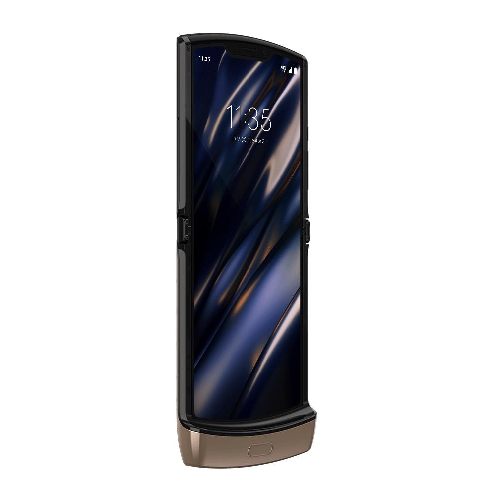 Motorola RAZR Blush Gold foldable smartphone