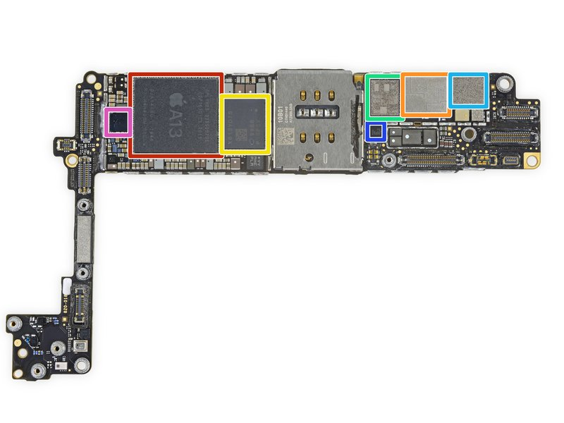iPhone SE 2020 oraz iPhone 8 mają wiele wspólnego - porównanie użytych części 20
