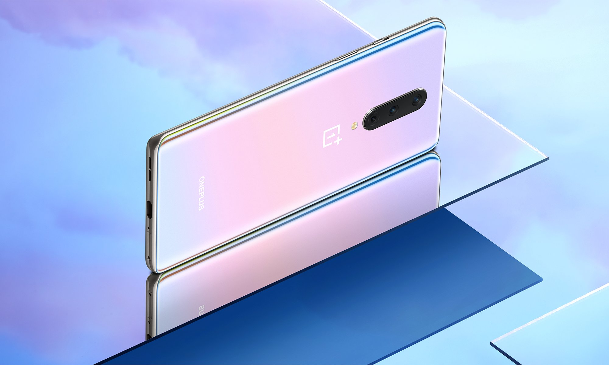 OnePlus 8 Interstellar Glow smartphone