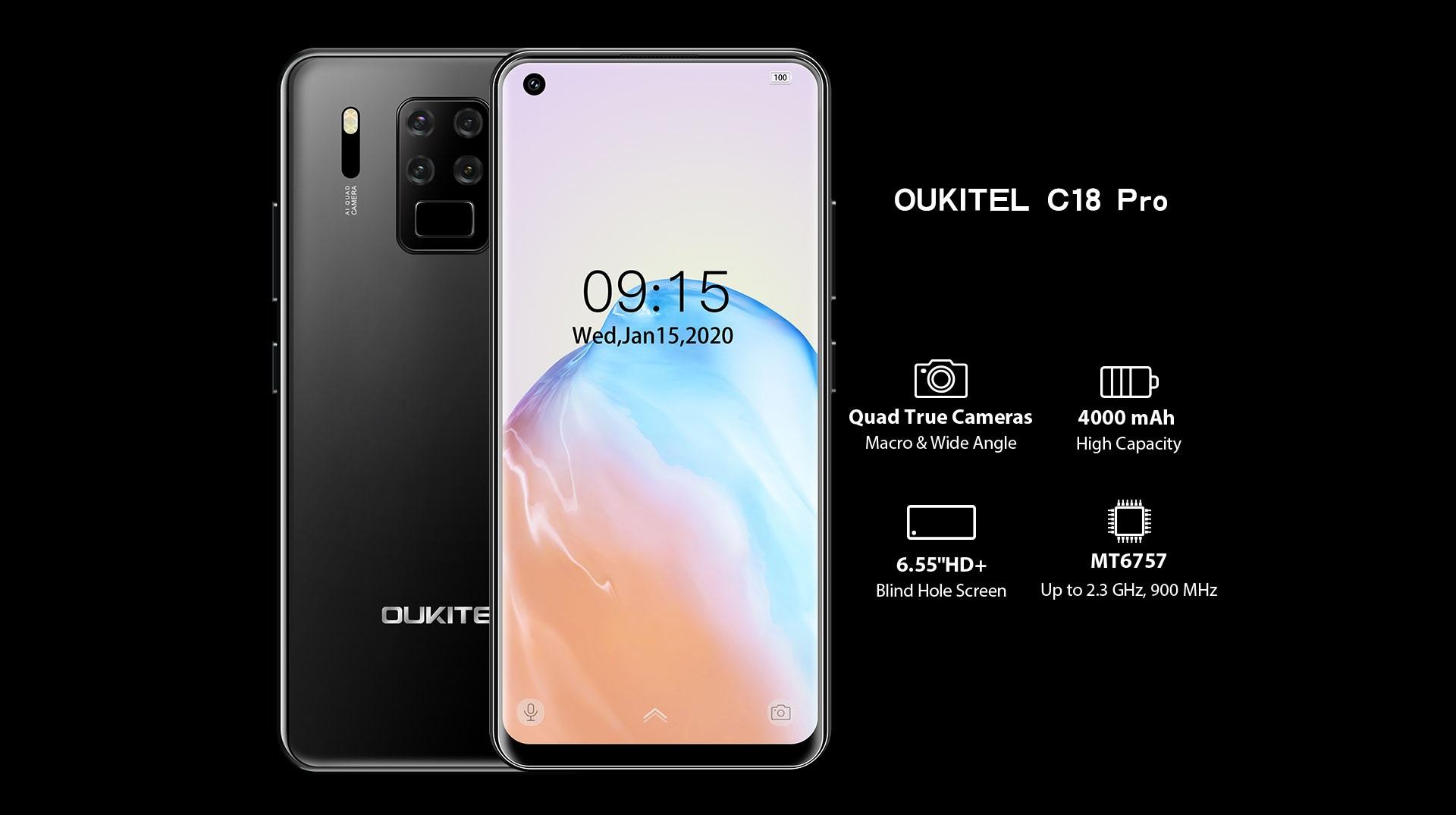 Oukitel C18 Pro smartphone