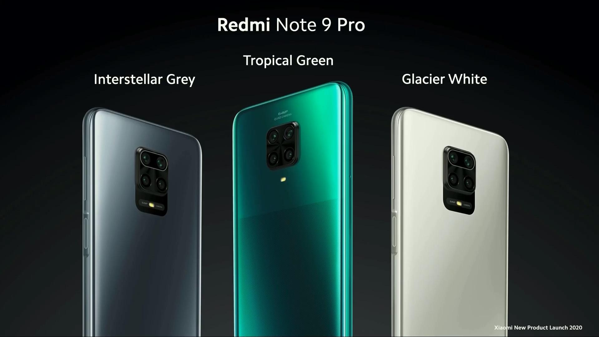 Redmi Note 9 Pro Global