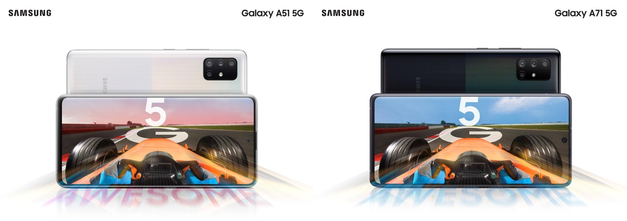 Samsung Galaxy A51 5G & Galaxy A71 5G smartphone